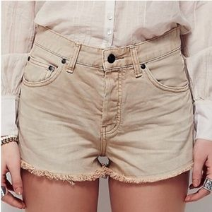 Free People Downtown Cutoff Shorts